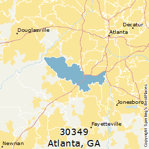 Best Places to Live in Atlanta (zip 30349), Georgia on