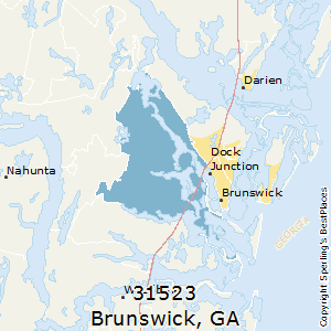 Brunswick Ga Zip Code Map Best Places to Live in Brunswick (zip 31523), Georgia