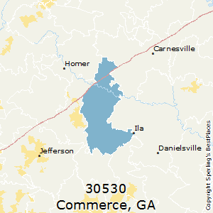 Commerce Georgia Map.Best Places To Live In Commerce Zip 30530 Georgia