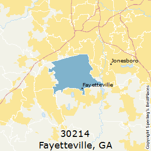 Fayetteville Ga Zip Code Map.Best Places To Live In Fayetteville Zip 30214 Georgia