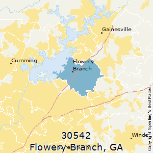 Flowery Branch Ga Zip Code Map.Best Places To Live In Flowery Branch Zip 30542 Georgia