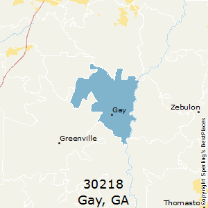 Best Places To Live In Gay Zip 30218 Georgia
