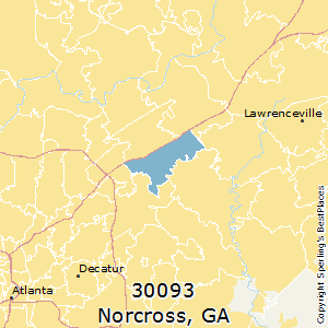Best Places To Live In Norcross Zip 30093 Georgia