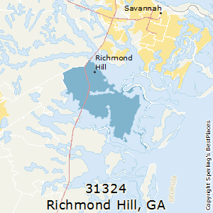Best Places To Live In Richmond Hill Zip Georgia - Elevation above sea level by zip code
