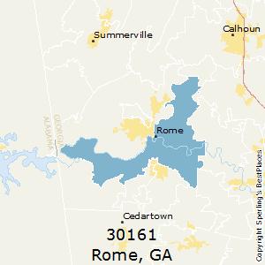 Rome Ga Zip Code Map.Best Places To Live In Rome Zip 30161 Georgia