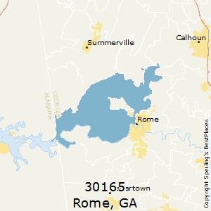 Rome Ga Zip Code Map.Best Places To Live In Rome Zip 30165 Georgia