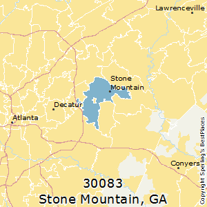 stone mountain ga zip code map Best Places To Live In Stone Mountain Zip 30083 Georgia