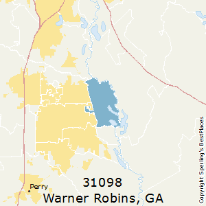 Best Places to Live in Warner Robins (zip 31098), Georgia