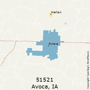Avoca Iowa Map.Best Places To Live In Avoca Zip 51521 Iowa