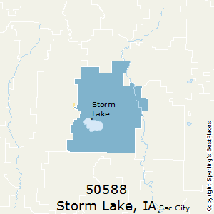 Storm_Lake,Iowa County Map