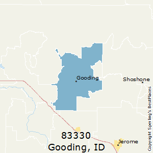 Gooding,Idaho(83330) Zip Code Map