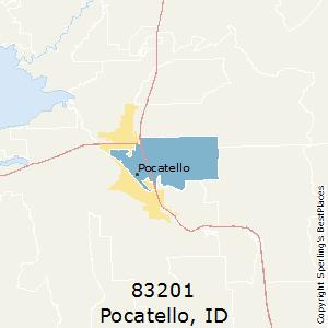 Pocatello Zip Code Map.Best Places To Live In Pocatello Zip 83201 Idaho