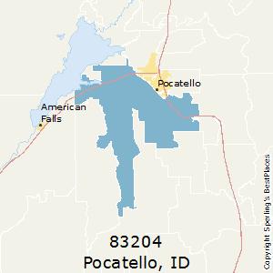 Pocatello Zip Code Map.Best Places To Live In Pocatello Zip 83204 Idaho