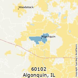 Algonquin Illinois Map.Best Places To Live In Algonquin Zip 60102 Illinois