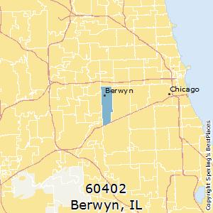 Berwyn zip 60402 Illinois Cost of Living