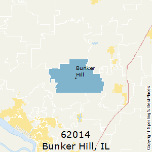 Bunker Hill Illinois Map.Best Places To Live In Bunker Hill Zip 62014 Illinois