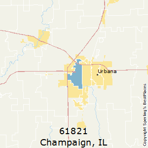 Best Places to Live in Champaign (zip 61821), Illinois