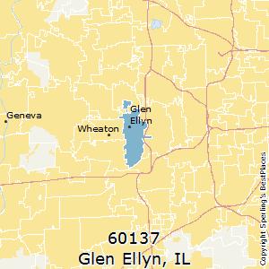 Glen Ellen Illinois Map.Best Places To Live In Glen Ellyn Zip 60137 Illinois