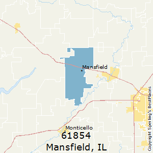 Mansfield Zip Code Map.Best Places To Live In Mansfield Zip 61854 Illinois