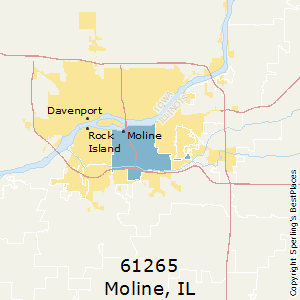 Best Places To Live In Moline Zip 61265 Illinois