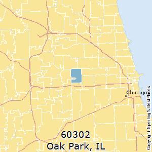 Oak Park Zip Code Map.Best Places To Live In Oak Park Zip 60302 Illinois