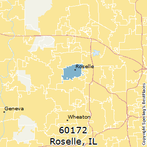 Roselle Illinois Map.Best Places To Live In Roselle Zip 60172 Illinois