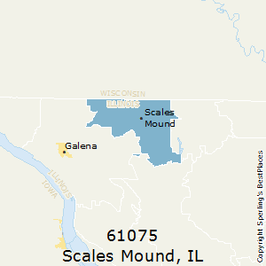 Scales_Mound,Illinois County Map