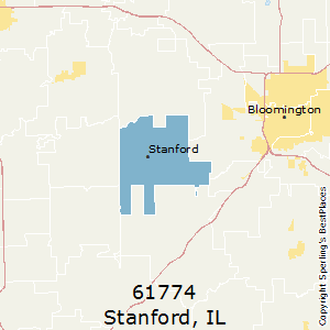 Stanford Zip Code Map.Best Places To Live In Stanford Zip 61774 Illinois