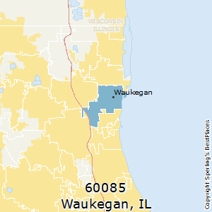 Best Places to Live in Waukegan zip 60085 Illinois