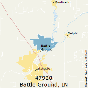 Battle_Ground,Indiana County Map