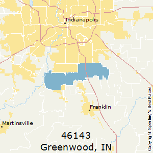Greenwood,Indiana County Map