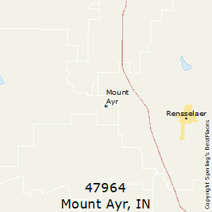 Mount_Ayr,Indiana County Map