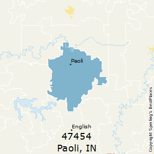 Paoli indiana zip code