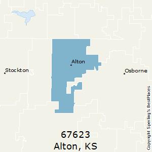 Alton Kansas Map.Best Places To Live In Alton Zip 67623 Kansas