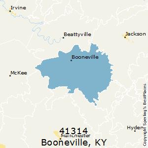 Booneville ky zip code
