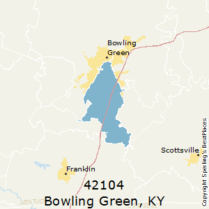Bowling Green Zip Code Map.Best Places To Live In Bowling Green Zip 42104 Kentucky
