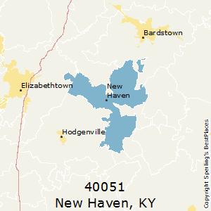 New Haven Zip Code Map.Best Places To Live In New Haven Zip 40051 Kentucky