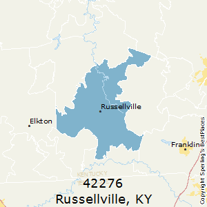 Russellville,Kentucky(42276) Zip Code Map
