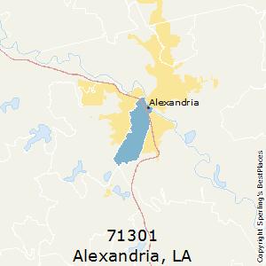 Alexandria Louisiana Zip Code Map.Best Places To Live In Alexandria Zip 71301 Louisiana