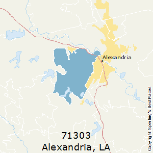 Alexandria Louisiana Zip Code Map.Best Places To Live In Alexandria Zip 71303 Louisiana