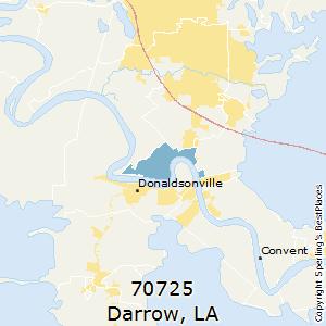 Darrow Louisiana Map.Best Places To Live In Darrow Zip 70725 Louisiana