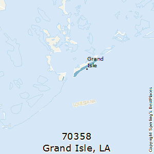 Grand_Isle,Louisiana County Map