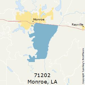 Monroe La Zip Code Map.Best Places To Live In Monroe Zip 71202 Louisiana