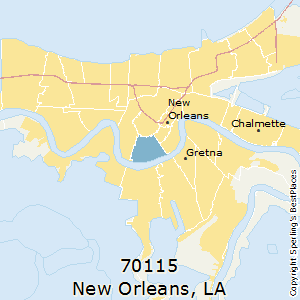 Zip Codes New Orleans Map.Best Places To Live In New Orleans Zip 70115 Louisiana