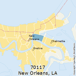 Best Places to Live in New Orleans (zip 70117), Louisiana