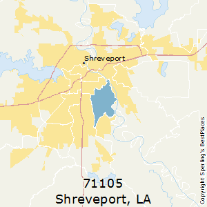 Best Places To Live In Shreveport Zip 71105 Louisiana