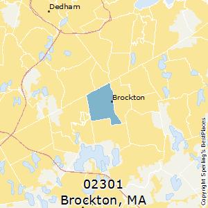 Brockton (zip 02301), Massachusetts Climate