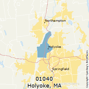 Holyoke zip code