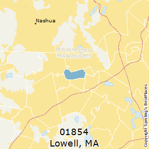 Lowell Ma Zip Code Map.Best Places To Live In Lowell Zip 01854 Massachusetts