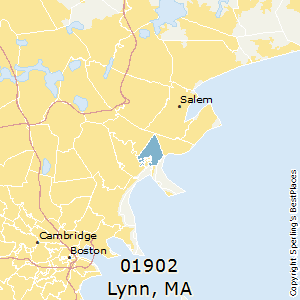 Lynn Ma Zip Code Map.Best Places To Live In Lynn Zip 01902 Massachusetts